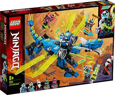 71711 LEGO NINJAGO Jay's Cyber Dragon 518 Pieces Age 8 Years+