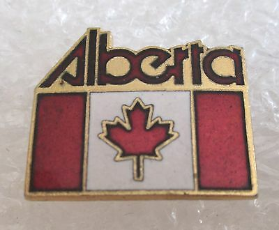 Alberta, Canada Travel Souvenir Collector Pin