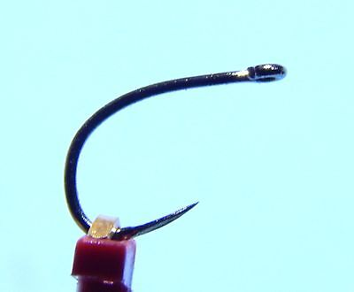 25 Fly Tying Sharp Point Barbless Nymph Fly Hooks (Size 16)