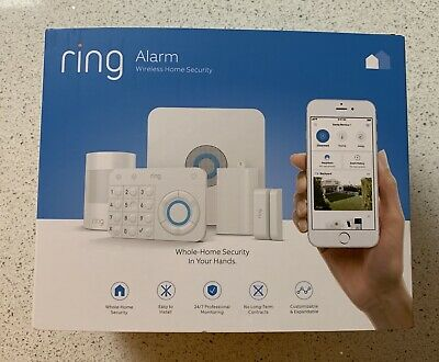 - Ring Alarm Wireless Home Security System 5 Piece Kit - BRAND NEW Factory Sealed