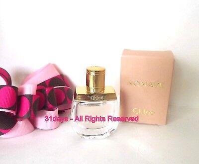 NEW Chloe Nomade Eau de Parfum Women Perfume Mini Splash .17 oz / 5 ml