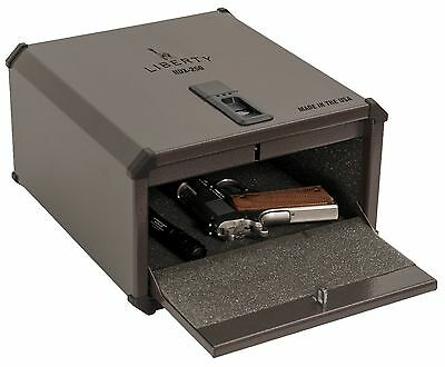 Licence SmartVault Biometric Handgun Rod Safe Fingerprint Gun Box - HDX-250