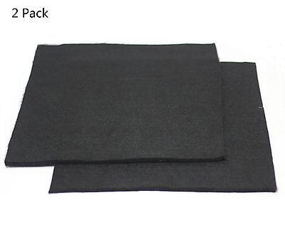 Carbon Fiber Welding Blanket Torch Shield Plumbing Heat 12 X 12 X 14 2 Pack