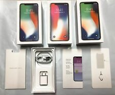 EMPTY BOX FOR IPHONE 7, 7 PLUS, 8, 8 PLUS X XS MAX XR WITH ACCESSORIES OPTION