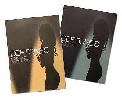 Deftones Two Piece 2013 Tour Info Wall Poster Gift Set New Official Rock Music