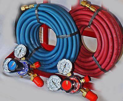Parweld / Weldcraft Oxy / Acetylene Gas Welding Set (5metre Hoses)