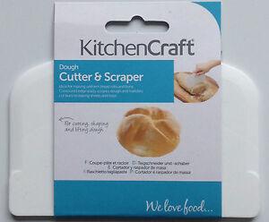 Kitchen Craft Dough Cutter Scraper Lifter Bread Pastry Rolls Buns Baking Utensil