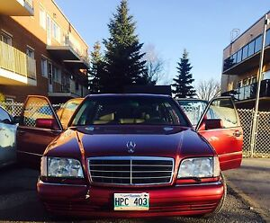 "1995 Mercedes Benz S-Class S320 ""SAFETIED """