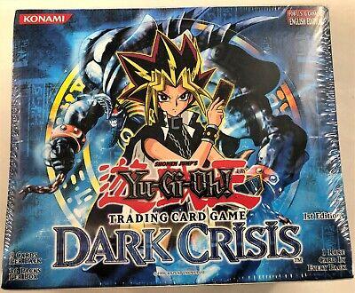 YGO! - Factory sealed 1st ed. English Dark Crisis 36-pack booster box Dark Crisis Booster Box