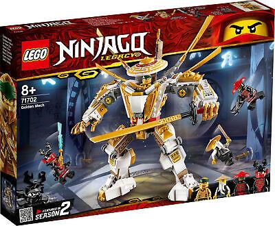 71702 LEGO NINJAGO Golden Mech 489 Pieces Age 8 Years+