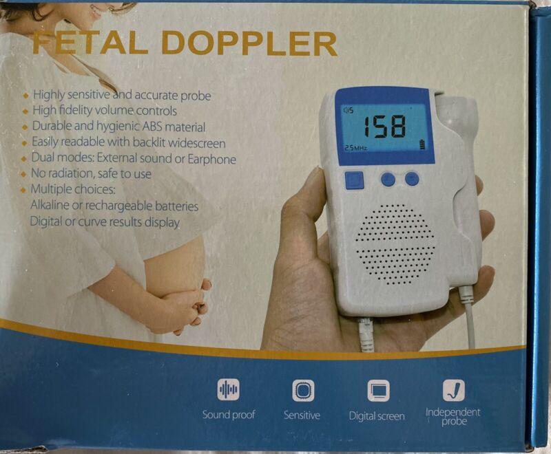 fetal doppler heart monitor
