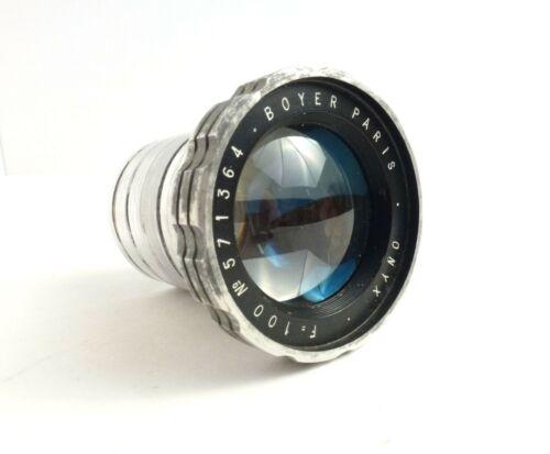 Boyer Paris Onyx 100 mm Vintage Projection Lens