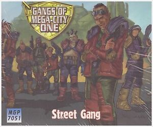 JUDGE DREDD: Street Gang Miniature Set - MEGA CITY ONE GAME - Wargame Models