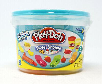 Hasbro - Play-Doh - Sweet Shoppe - Sundae Treats - 4 Fruchtformen & Zubehör ()