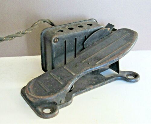 Antique Sewing Machine Foot Pedal Industrial Steampunk Replacement Part Unmarked