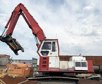 Link Belt 5800 Excavator With Grapple