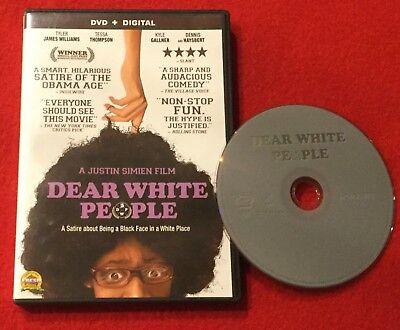 Dear White People  Dvd  2015  Tyler James Williams   Tessa Thompson
