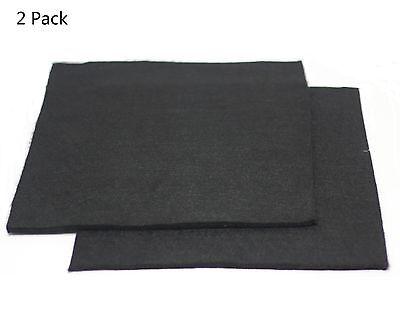 2 Pcs Carbon Fiber Welding Blanket Torch Shield Plumbing Heat Sink Slag Fire 6mm