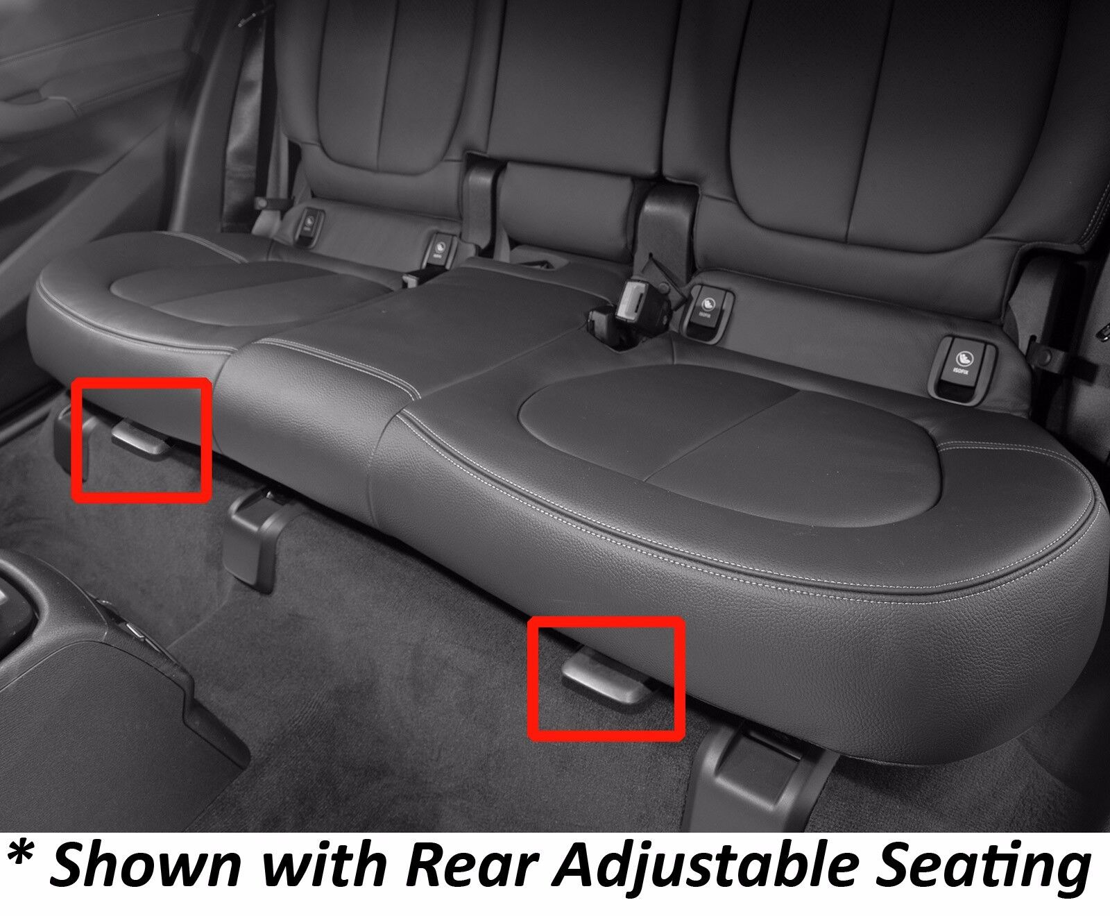 WeatherTech Cargo Liner for BMW X1 w//o Rear Adjustable Seats Black 2016-2018