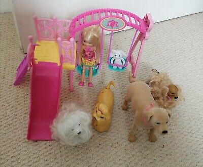 Barbie swing and barbie dogs bundle