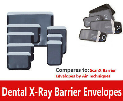 Barrier Envelopes For Phosphor Plate Dental Digital X-ray Size 0 1 2 3 4 Scanx