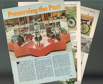 Old Vintage MOTORCYCLE Museum Article/Photos/Pictures: Preservation,Indian,Trump