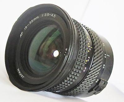 Объективы Tokina AF 19-35mm f/3.5-4.5 for