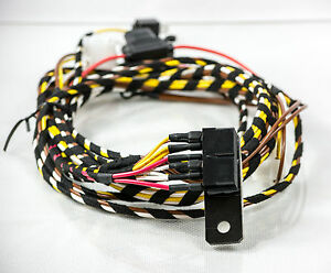 porsche 944 uprated headlight wiring loom harness play upgrade ebay