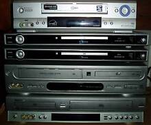 DVD-Video Players, Stereo Systems, Speakers and more New Lambton Heights Newcastle Area Preview