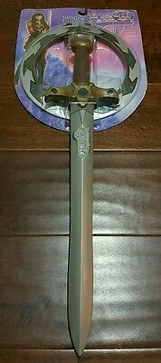 Xena Warrior Princess Chakram beltclip Sword toy play set *EXTREMELY RARE SET*