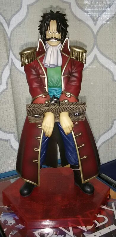 One piece gold Roger figure anime series collectable item King of the pirates.