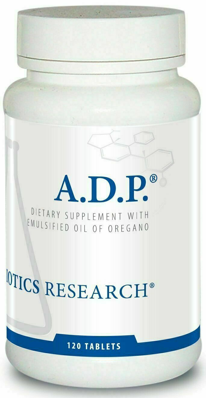 Biotics Research A.D.P. 120 Tab Delayed Release Emulsified Oregano Oil