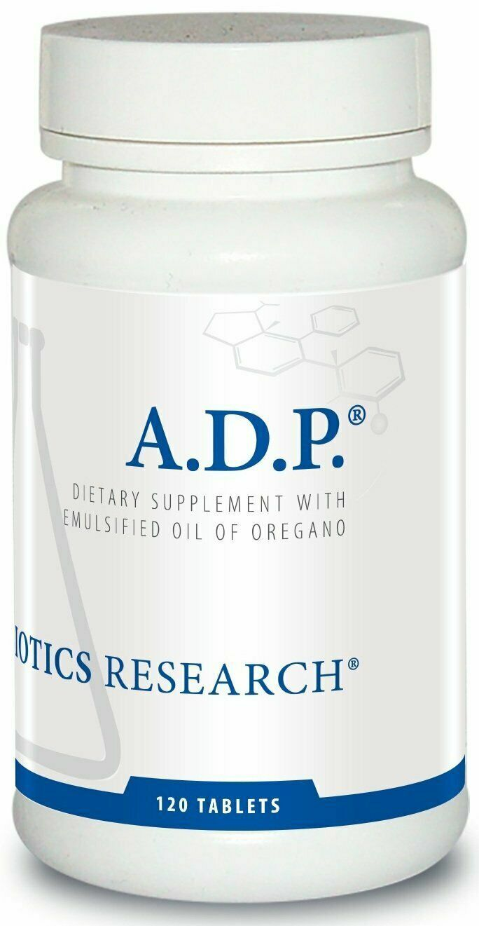 Biotics Research A.D.P. ADP Oregano Oil 120 Tablets