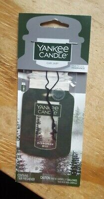 FALL SPECIAL!! YANKEE CANDLE CLASSIC CAR JAR: EVERGREEN MIST