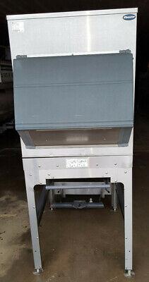 Follett Ice Storage Bin Transport Model Its700sg Stainless Steel Hopper Dump