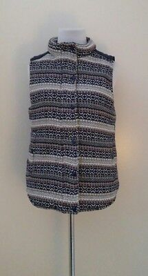 NWT Modcloth Vest Sweater Left Unsaid Knit  SMALL Pockets by Skies Are Blue