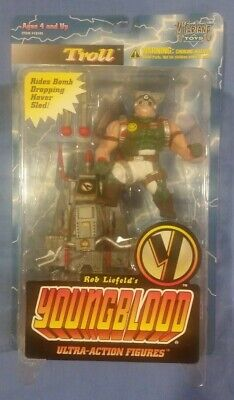 Youngblood Troll Action Figure MOC - $4.99