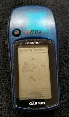 GARMIN ETREX™ LEGEND H GPS HANDHELD IN ORIGINAL BOX USED