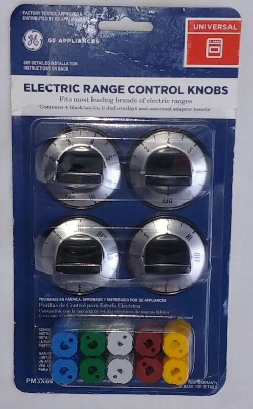 General Electric GE Appliances Universal Electric Range Control Knobs PM3X84