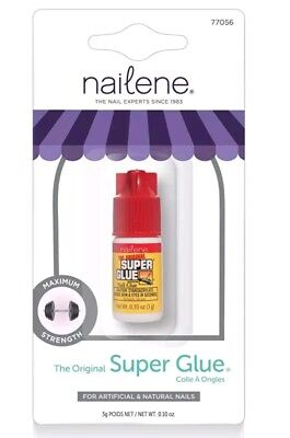 Nailene Super Glue  ....strength The Original Full Size 3g Sealed Fully Packaged