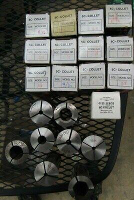 Mbc 5c Collet 21 Piece Set Various Sizes Machine Shop Tools Cnc Machine