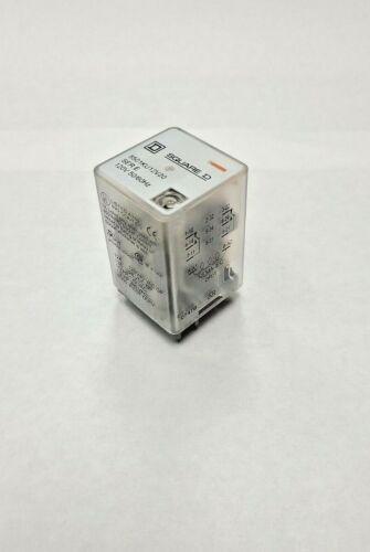 SQUARE D PLUG-IN GP RELAY 8501KU12V20 SER. E 120V 50/60 HZ