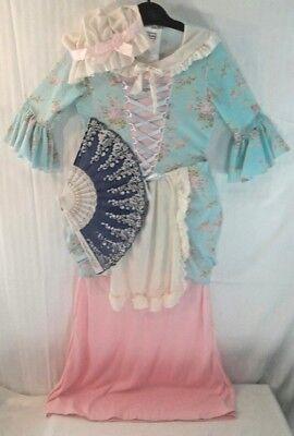 GIRL'S Colonial-Betsy Ross-Martha Washington-Little Bo Peep-Shepardess COSTUME (Little Bo Peep Costume)