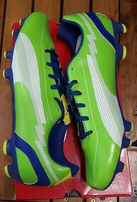 4986fef5aba Puma evoSPEED 5 FG Mens Soccer Cleats - Green Mens sz 11