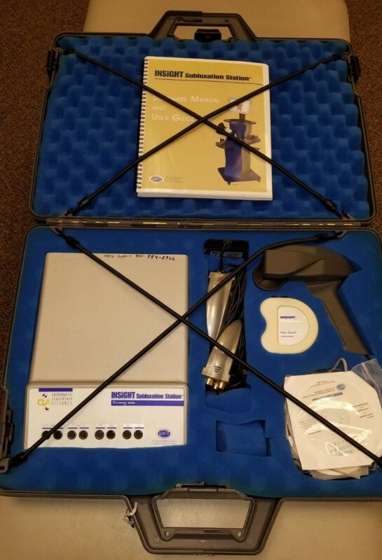 CLA Insight Subluxation Station with EMG, Thermal and HRV