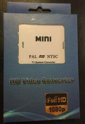 Pal Tv-system (PAL/NTSC/SECAM to PAL/NTSC Mini Bi-directional TV System Converter Switcher NEW)