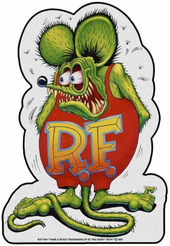 Rat Fink Full Body Plasma Cut, Big Daddy Ed Roth Metal Sign
