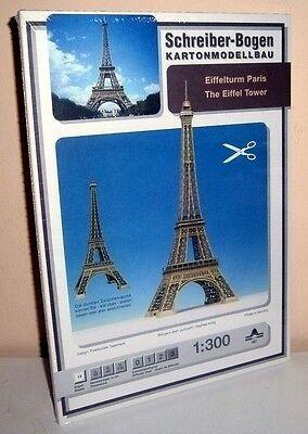 Karton Eiffelturm (+ KARTONMODELLBAU EIFFELTURM PARIS SCHREIBER-BOGEN 597   Bastelbogen)