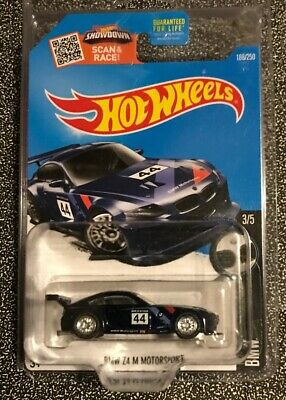 Hot Wheels 2016 Super Treasure Hunt BMW Z4 M Motorsport,Real Riders & Protector