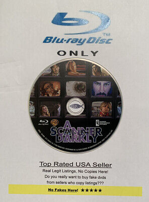 ✅ A Scanner Darkly Blu-ray Only: 100% Authentic 𝐍𝐎 𝐅𝐀𝐊𝐄𝐒 𝐇𝐄𝐑𝐄 ⭐⭐⭐⭐⭐